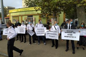 In Odessa, the Sailors went to the March with an appeal to the President
