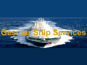 Крюинговая компания GESMAR SHIP SERVICES SRL